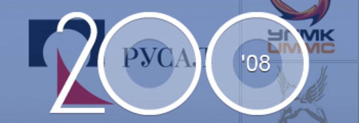 200 крупнейших непубличных компаний России — 2008