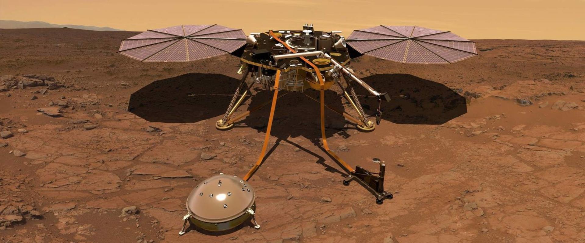 NASA успешно посадило робота InSight на Марсе-ის სურათის შედეგი
