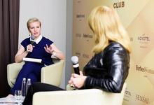 Forbes Woman Club c президентом InfoWatch Натальей Касперской