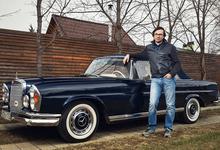 Ход истории: Mercedes-Benz, «Волга» и уникальный Jaguar московского коллекционера