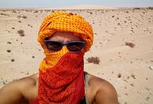 Одна вокруг света: как не заблудиться в пустыне и застать дождь в Африке