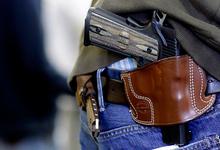 Без шанса на самооборону. Владельцев оружия хотят обязать носить специальные знаки