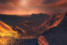 Обнаружена планета у летящей звезды Барнарда