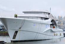 Новая Anna: Дмитрий Рыболовлев строит яхту на верфи в Нидерландах