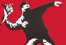 Рисунки на заборах: в Москве показывают Бэнкси и его крыс