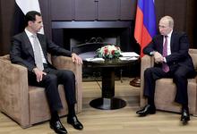 Конец войны. Путин и Асад обсудили завершение операции в Сирии