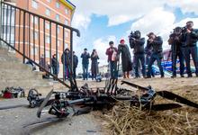 Крушение надежд. Первый беспилотник «Почты России» разбился о стену