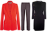 Жакет, Stella McCartney; брюки, Tod's; платье, Alexander McQueen