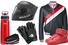 Шлем, Skully AR-1; бомбер, Thom Browne; фляга, Audi; ремень, Strellson; перчатки, Givenchy; кроссовки, Maison Margiela