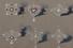 Эскиз бриллиантовых подвесок и брошей с рубинами. Дом Фаберже. Москва, 1900-е. Картон, гуашь