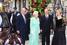 Владимир Путин, Людмила Путина, королева Великобритании Елизавета II и ее супруг герцог Эдинбургский Филипп в Лондоне 27 июня 2003 года