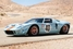 5. Ford GT40 Gulf/Mirage Lightweight Racing Car 1968 года