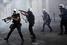 Полиция использовала для разгона антиправительственной акции на площади Таксим слезоточивый газ