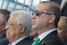 Махмуд Аббас и Реджеп Тайип Эрдоган наблюдают за церемонией открытия Московской Соборной мечети