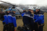 Французские спасатели и полицейские на месте крушения