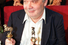 Алексей Герман-старший с «Золотым овном», 1999 год