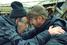Алексей Герман-старший и Леонид Ярмольник в Выборге на съемка фильма «История Арканарской резни»