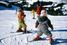 Карусель на лыжах