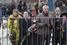 Москвичи стояли в очереди несколько часов, чтобы возложить цветы к гробу с телом Бориса Немцова