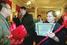 2003 год. Юлий Ким, Алексей Герман-старший и Светлана Кармалита на вручении Царскосельской премии