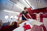 Первый класс авиакомпании «Трансаэро»
