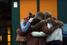 Друзья погибших в катастрофе школьников из города Хальтерн ам Зе скорбят по жертвам крушения