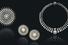 Сет украшений с бриллиантами старинной огранки