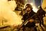 Вооруженный полицейский во время беспорядков в Рио-де-Жанейро