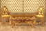 Мебель с бычьей кожей и сусальным золотом