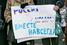 Поддержка решения о присоединении Крыма к России стала одной из ключевых тем шествия