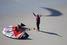 Ричард Брэнсон , основатель компании Virgin, на воздушном шаре