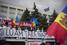 Акция прошла под флагами Молдавии и Евросоюза