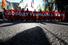 Помимо антивоенных лозунгов на марше звучали и призывы поддержать фигурантов уголовного дела о беспорядках на Болотной площади 6 мая 2012 года