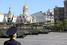 Мимо Кремлевской стены проезжают 152-мм самоходные гаубицы «Мста-С»