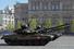 На марше по Красной площади танки Т-90А
