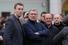 Алексей Навальный и Михаил Касьянов традиционно оказались в очереди на сцену