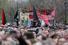 Большая часть плакатов в руках протестующих была посвящена арестованным активистам оппозиции и Алексею Навальному