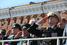 С трибун за парадом наблюдали руководители страны, военачальники, ветераны и гости праздника