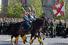 Новинкой парада стало прохождение кавалерийского почетного эскорта Президентского полка службы коменданта Московского Кремля