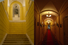 Лестница, ведущая в Щепкинское фойе, коридор в гримерки Народных артистов на мужской стороне