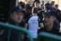 Участник марша в футболке «Небесная сотня» в память о жертвах столкновений в Киеве