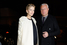 Председатель совета директоров «Национальной резервной корпорации» Александр Лебедев и модель Елена Перминова