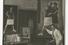 В мастерской дома художника в районе Шарлоттенбург. Берлин, 1929 год. Серебряножелатиновый отпечаток хранится в музее-квартире Н. А. Загрекова в Берлине