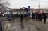 Сотрудники экстренных служб на месте взрыва