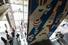 К открытию нового здания «Гараж» подготовил «восемь выставочных проектов, встречи с кураторами, выступления художников, дискуссии, лекции, кинопоказы, мастер-классы и многое другое». На фото — инсталляция художника Эрика Булатова