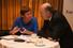 Заместитель главного редактора Forbes Ирина Телицына и основатель WBD Давид Якобашвили