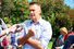 Политик Алексей Навальный поддержал организаторов митинга и активно призывал своих сторонников прийти на Суворовскую площадь