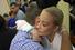 Навальный прощается с женой