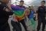 Акция гей-активистов в парке Горького
