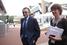 Сенатор Сулейман Керимов и главный редактор Forbes Елизавета Осетинская